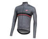 Image 1 for Pearl Izumi Elite Pursuit Thermal Graphic Jersey (Smoke Pearl/Black Diffuse)