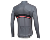 Image 2 for Pearl Izumi Elite Pursuit Thermal Graphic Jersey (Smoke Pearl/Black Diffuse)
