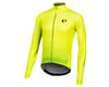Image 1 for Pearl Izumi Elite Pursuit Thermal Graphic Jersey (Screaming Yellow Diffuse)