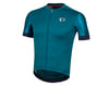 Image 1 for Pearl Izumi Elite Pursuit Speed Short Sleeve Jersey (Teal/Navy Paisley)