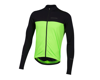 Image 1 for Pearl Izumi Quest Long Sleeve Jersey (Black/Screaming Green)