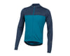 Image 1 for Pearl Izumi Quest Long Sleeve Jersey (Navy/Teal)