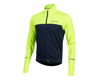 Pearl Izumi Quest Thermal Long Sleeve Jersey (Screaming Yellow/Navy)