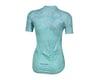 Image 2 for Pearl Izumi Women's Elite Pursuit Short Sleeve Jersey (Glacier/Teal Kimono) (XL)
