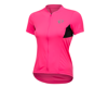 Image 1 for Pearl Izumi Women's Select Pursuit Short Sleeve Jersey (Screaming Pink/Black)