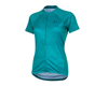 Image 1 for Pearl Izumi Women's Select Pursuit Short Sleeve Jersey (Breeze/Teal Kimono)