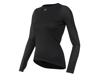 Image 1 for Pearl Izumi Women's Transfer Long Sleeve Base Layer (Black) (S)