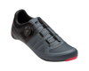 Image 1 for Pearl Izumi Women's Attack Road Shoe (Black/Atomic Red) (41.5)