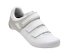 Image 1 for Pearl Izumi Women's Quest Road Shoes (White/Fog) (37)