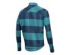 Image 2 for Pearl Izumi Rove Long Sleeve Shirt (Navy/Hydro Plaid) (2XL)