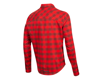 Image 2 for Pearl Izumi Rove Long Sleeve Shirt (Torch Red/Russet Plaid) (2XL)