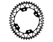Absolute Black Asymmetric Gravel 1X Oval Chainring (Black) (110mm BCD) | product-related