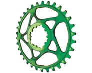 Absolute Black Spiderless GXP Direct Mount Ring (Green) | product-related