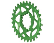 Absolute Black Spiderless GXP Direct Mount Oval Ring (Green) | product-related