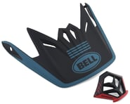 Bell Full-9 Replacement Visor Combo (Matte Blue/Black)   product-related