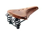 Brooks B67 Pre-Aged Men's Saddle (Tan) (Black Steel Rails) | product-related