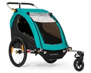 Burley Encore X Child Trailer (Turquoise) | product-related