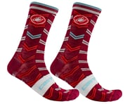 Castelli Men's Transition 18 Socks (Pro Red) | product-related