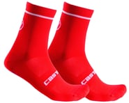 Castelli Entrata 13 Sock (Red) | product-related