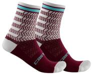 Castelli Avanti 12 Sock (Bordeaux/Ivory)   product-also-purchased