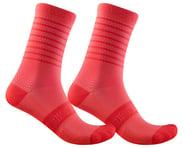 Castelli Superleggera 12 Women's Sock (Brilliant Pink)   product-related