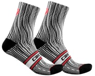 Castelli Illusione Women's Sock (Black/White)   product-also-purchased