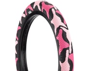 Cult Vans Tire (Pink Camo/Black) (Wire) | product-related