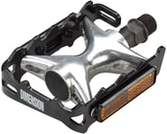 Dimension Compe Pedals (Black/Silver) | product-related