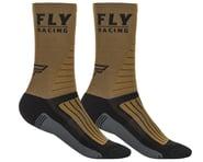 Fly Racing Factory Rider Socks (Khaki/Black/Grey) | product-related