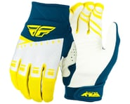 Fly Racing F-16 Gloves (Yellow/White/Navy) | product-related