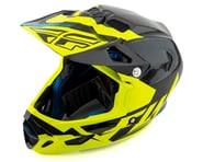 Fly Racing Werx Carbon Full-Face Helmet (Ultra) (Black/Hi-Vis Yellow) | product-related