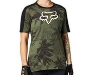 Fox Racing Women's Ranger DriRelease Short Sleeve Jersey (Olive Green)   product-related