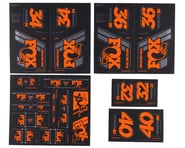 Fox Suspension Heritage Decal Kit (Orange) | product-also-purchased