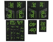 Fox Suspension Heritage Decal Kit for Forks & Shocks (Green) | product-also-purchased