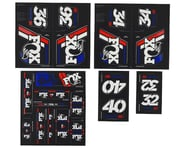 Fox Suspension Heritage Decal Kit for Forks & Shocks (Red/White/Blue)   product-also-purchased