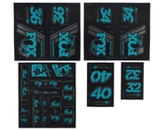 Fox Suspension Heritage Decal Kit for Forks & Shocks (Turqoise)   product-also-purchased
