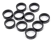 """FSA PolyCarbonate Headset Spacers (Black) (1-1/8"""") (10) 