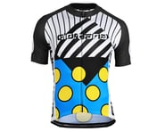 Giordana Motivo 2 Jersey (Blue/Black/White/Yellow) | product-related