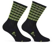 "Giordana FR-C Tall ""G"" Socks (Black/Acid Green) | product-also-purchased"