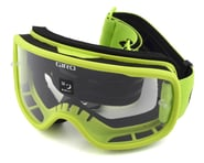Giro Tempo Mountain Goggles (Lime) (Clear Lens) | product-related