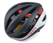 Giro Aether Spherical Road Helmet (Matte Portaro Grey/White/Red) | product-related