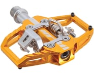 """HT T1 Clipless Pedals (Gold) (9/16"""") 