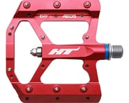 """HT AE05 Evo+ Platform Pedals (Red) (Aluminum) (9/16"""")   product-related"""
