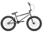 """Kink 2022 Curb BMX Bike (20"""" Toptube) (Matte Brushed Silver) 