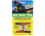 Kool Stop BMX Brake Pads (Threaded) (Black/Salmon) (Pair) | product-also-purchased