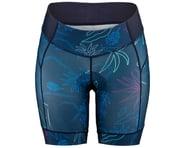 Louis Garneau Women's Neo Power Art Motion 7 Shorts (Blue Flow) | product-related