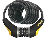 OnGuard Doberman Combo Cable Lock (Gray/Black/Yellow) (6' x 10mm) | product-also-purchased