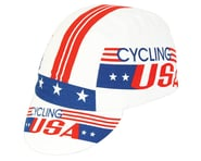 Pace Sportswear Cycling USA Cap (Red/White/Blue) (One Size Fits Most) | product-related