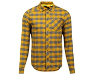 Pearl Izumi Rove Long Sleeve Shirt (Turbulence/Gold Plaid) | product-related