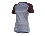Pearl Izumi Women's Launch Short Sleeve Jersey (Plumb Perfect/Eventide Vert) | product-related